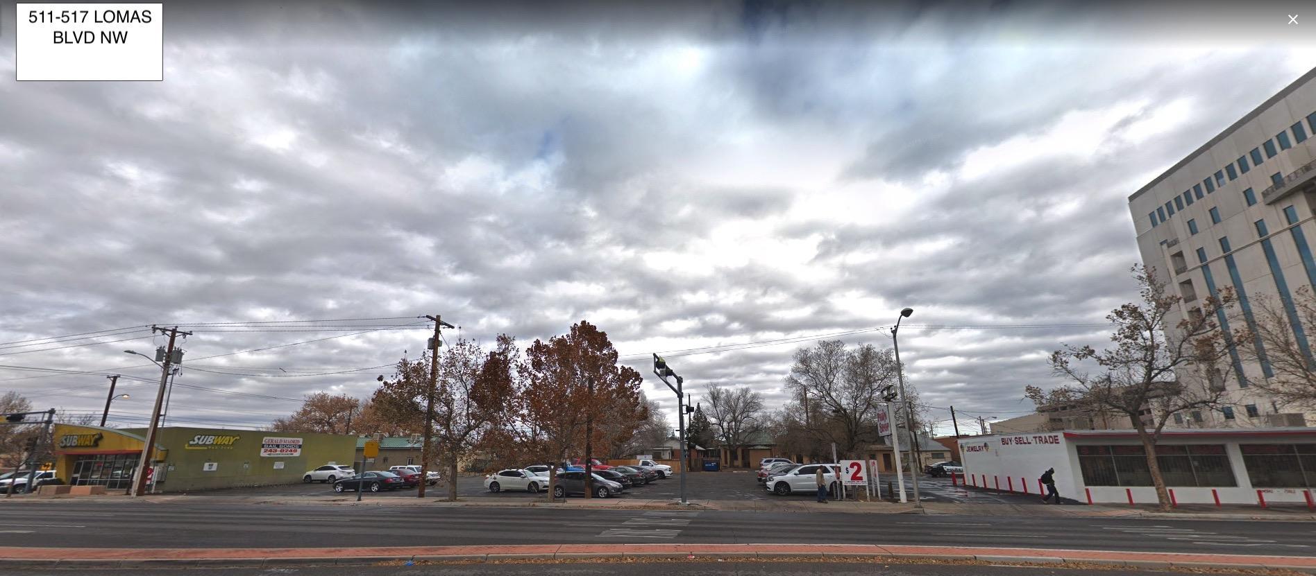 513 Lomas Boulevard Nw Property Photo