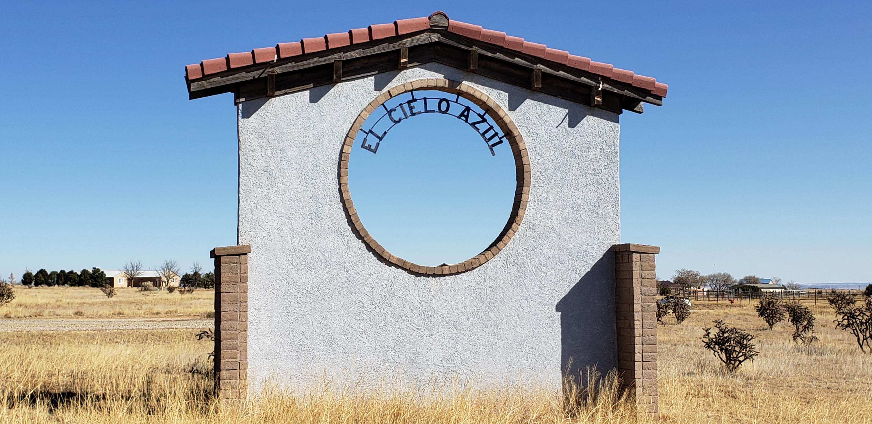 10 El Cielo Azul Circle Property Photo - Edgewood, NM real estate listing
