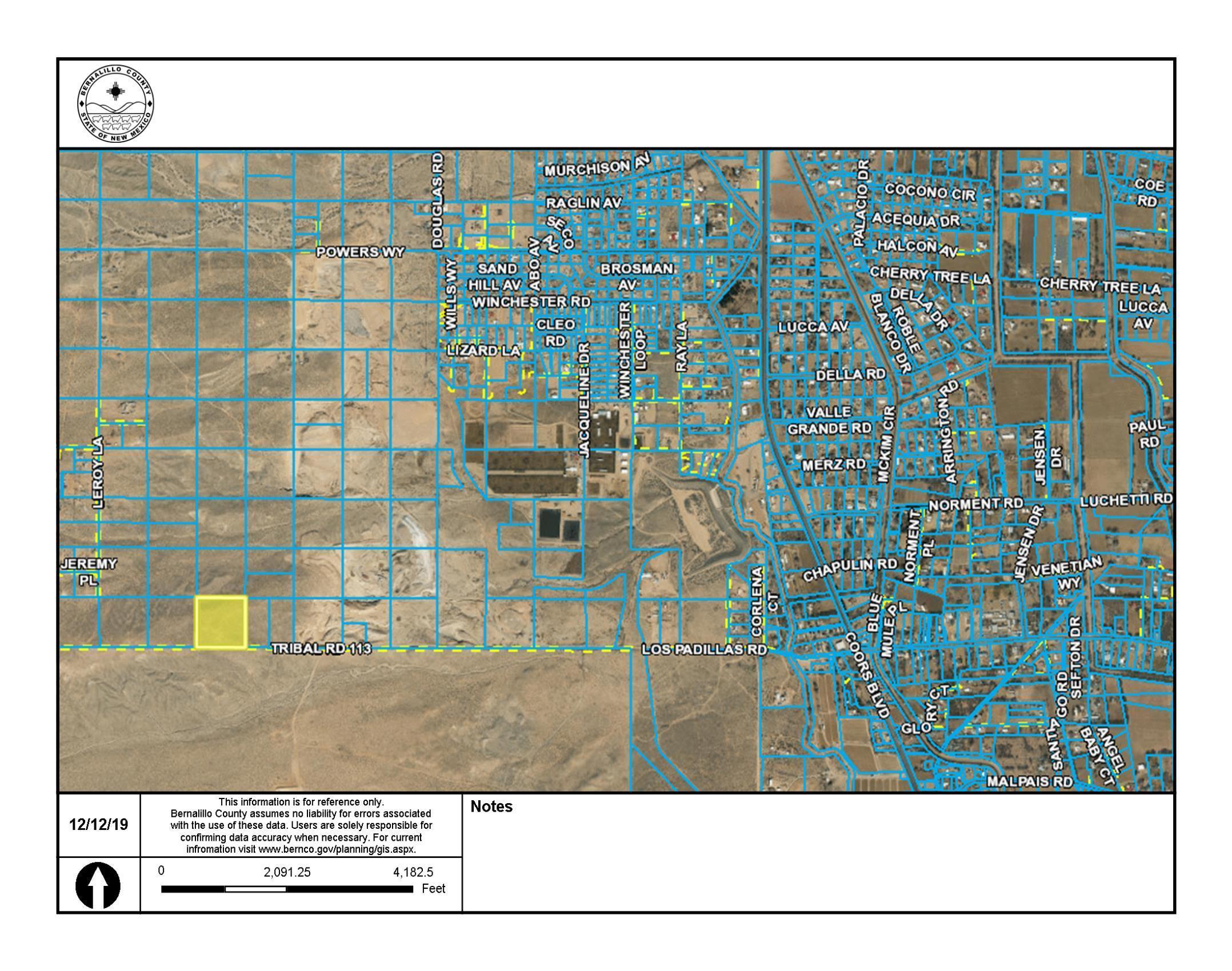 Off Pajarito (KGS) SW Property Photo - Albuquerque, NM real estate listing