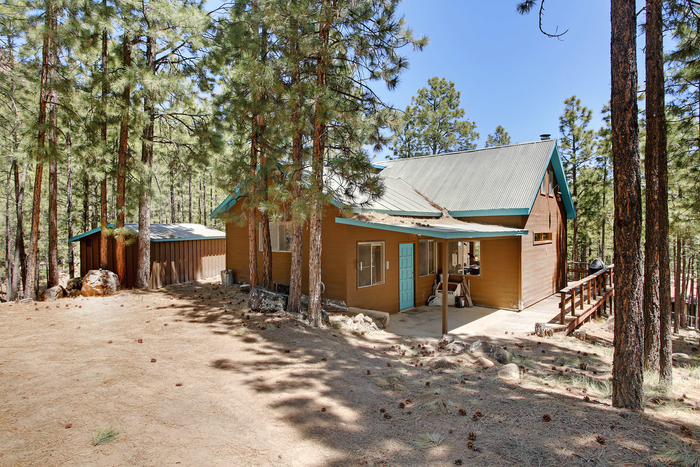 232 SPRUCE Loop Property Photo - Jemez Springs, NM real estate listing