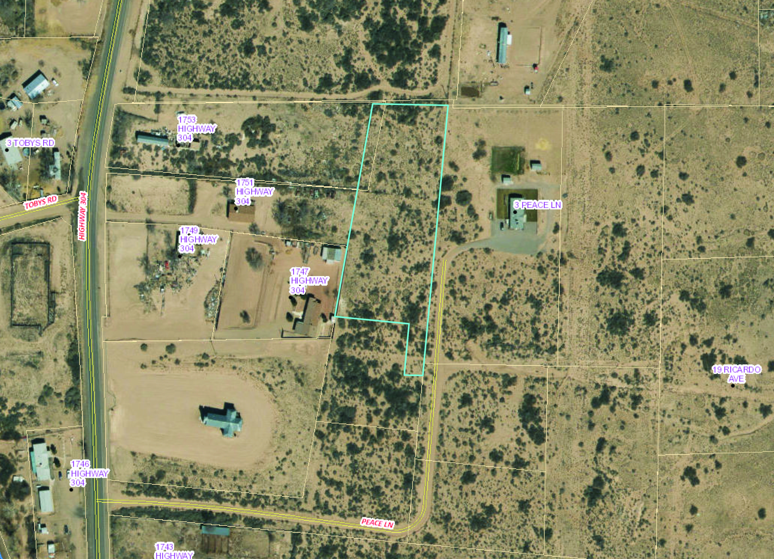 1A Peace Lane Property Photo - Belen, NM real estate listing