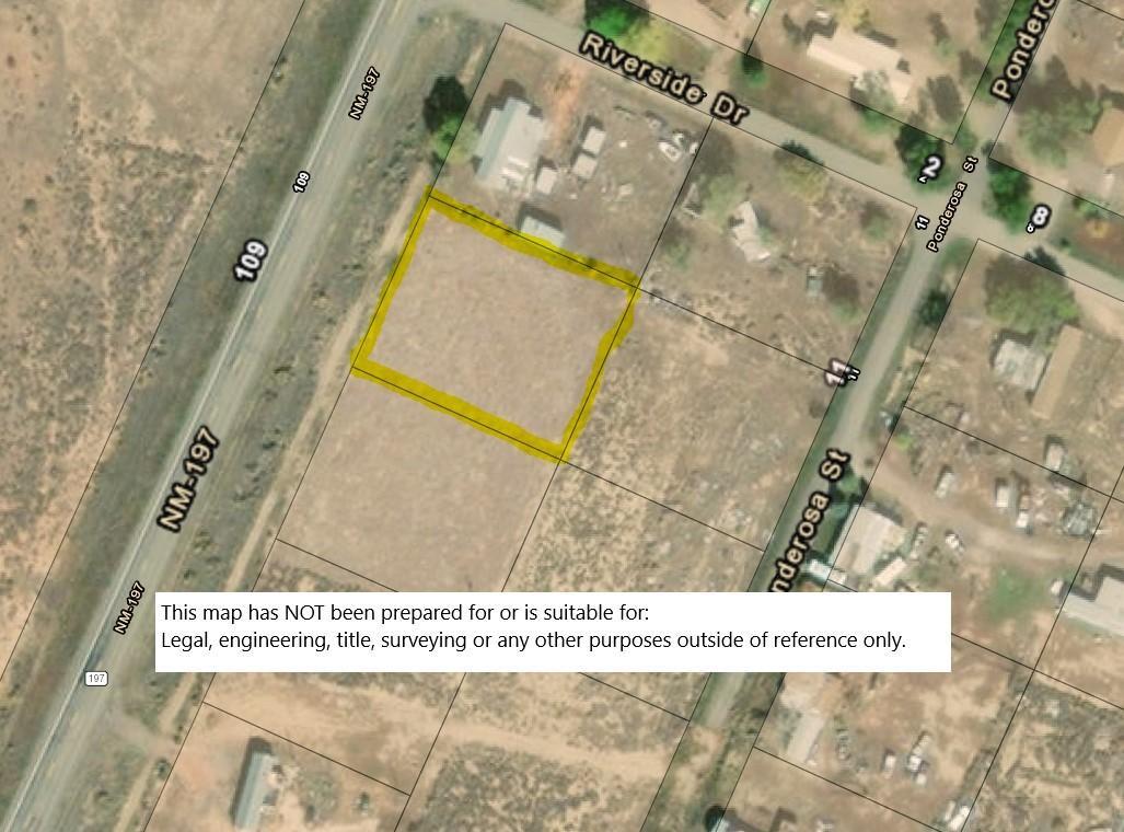 Lot 8 Rio Puerco Estates NM HWY 197 Property Photo - Cuba, NM real estate listing