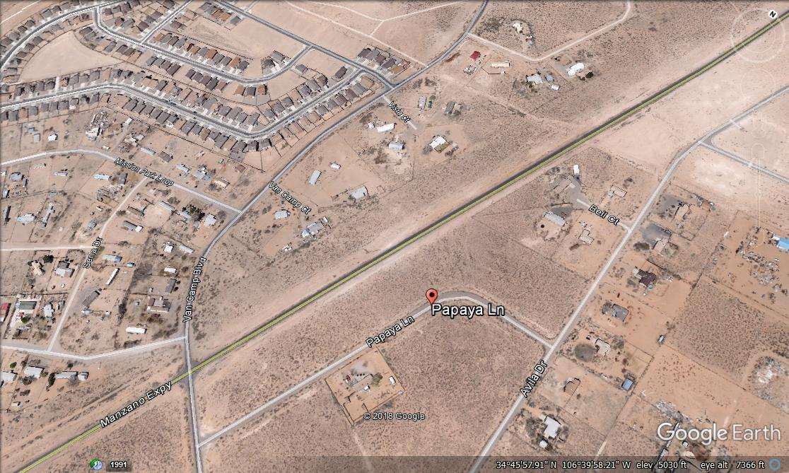 Papaya Lane Property Photo - Los Lunas, NM real estate listing