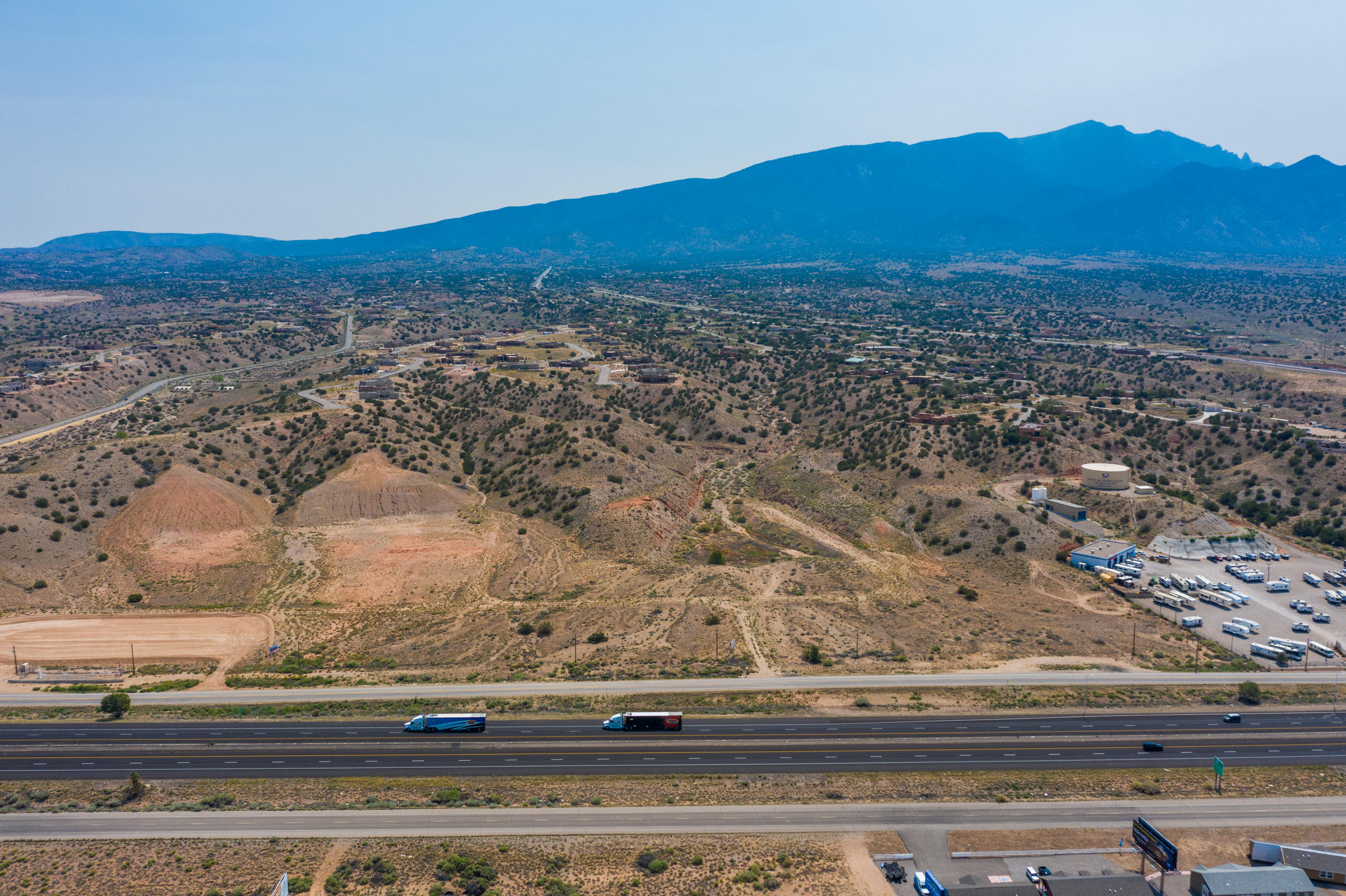 TBD Frontage Road Property Photo - Bernalillo, NM real estate listing