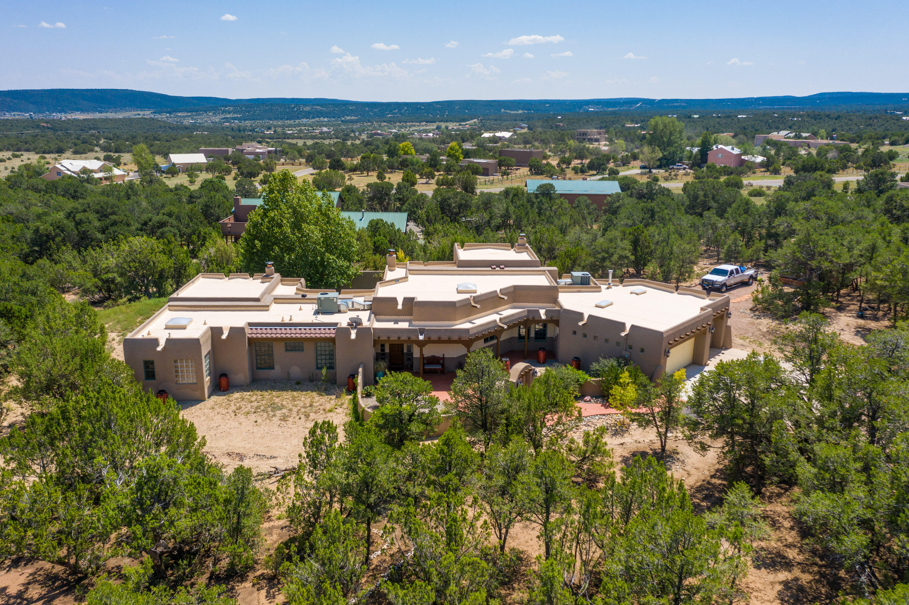 47 Sandia Mountain Ranch Drive Property Photo - Tijeras, NM real estate listing