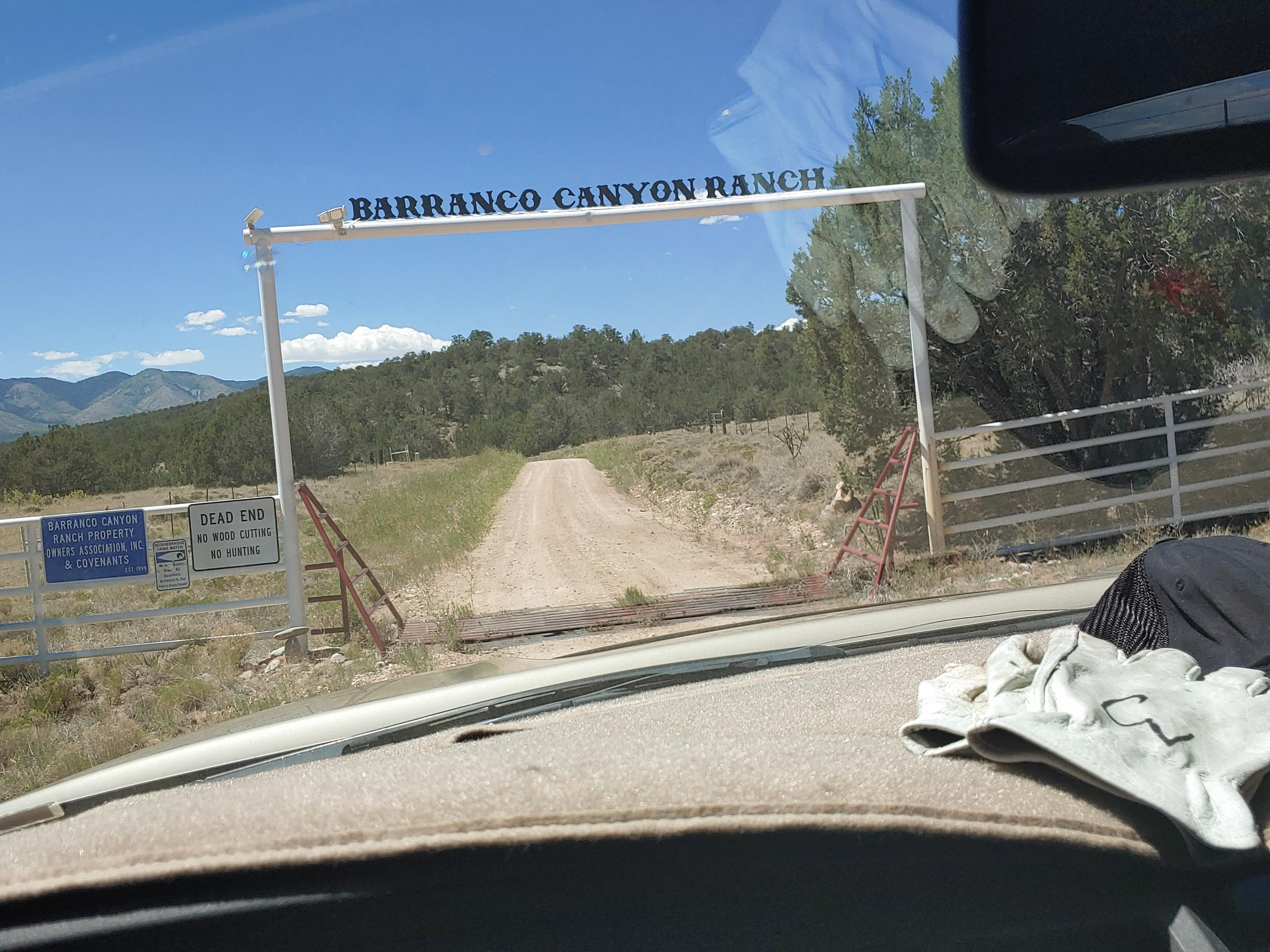 Barranco Canyon Property Photo - Mountainair, NM real estate listing