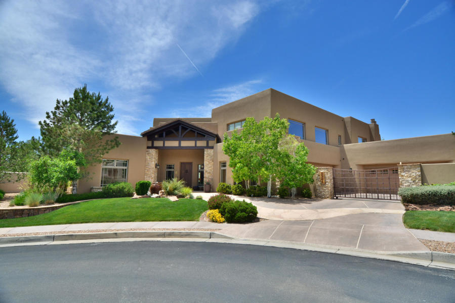 5301 HIGH CANYON Trail NE Property Photo - Albuquerque, NM real estate listing
