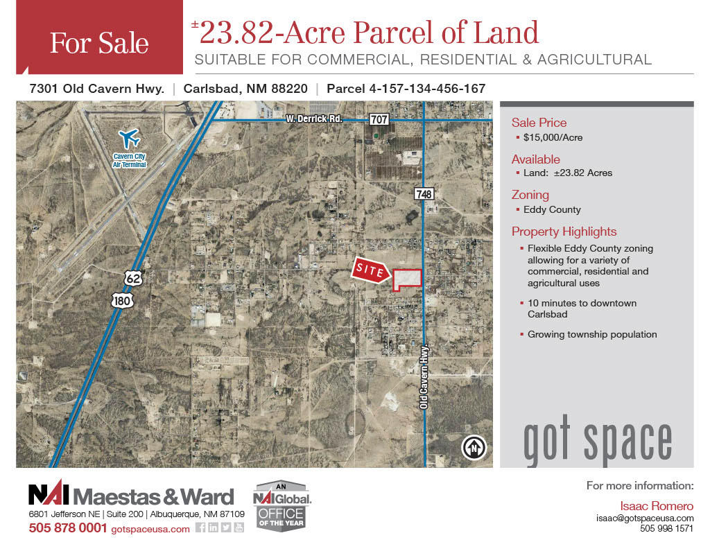 7301 OLD CAVERN Highway Property Photo - Carlsbad, NM real estate listing
