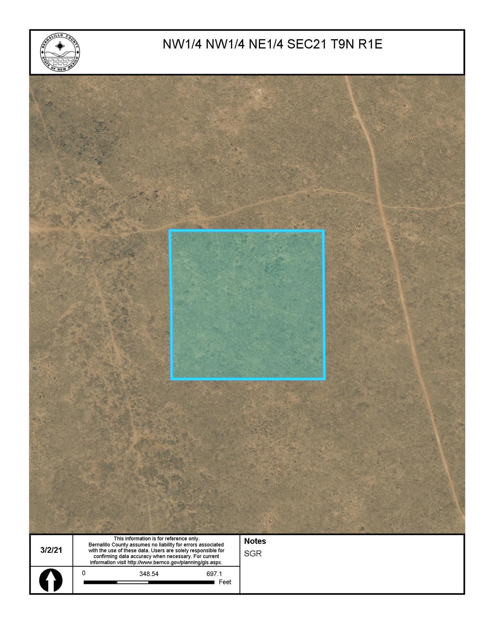 Off Pajarito (T.K 1) Road SW Property Photo - Albuquerque, NM real estate listing