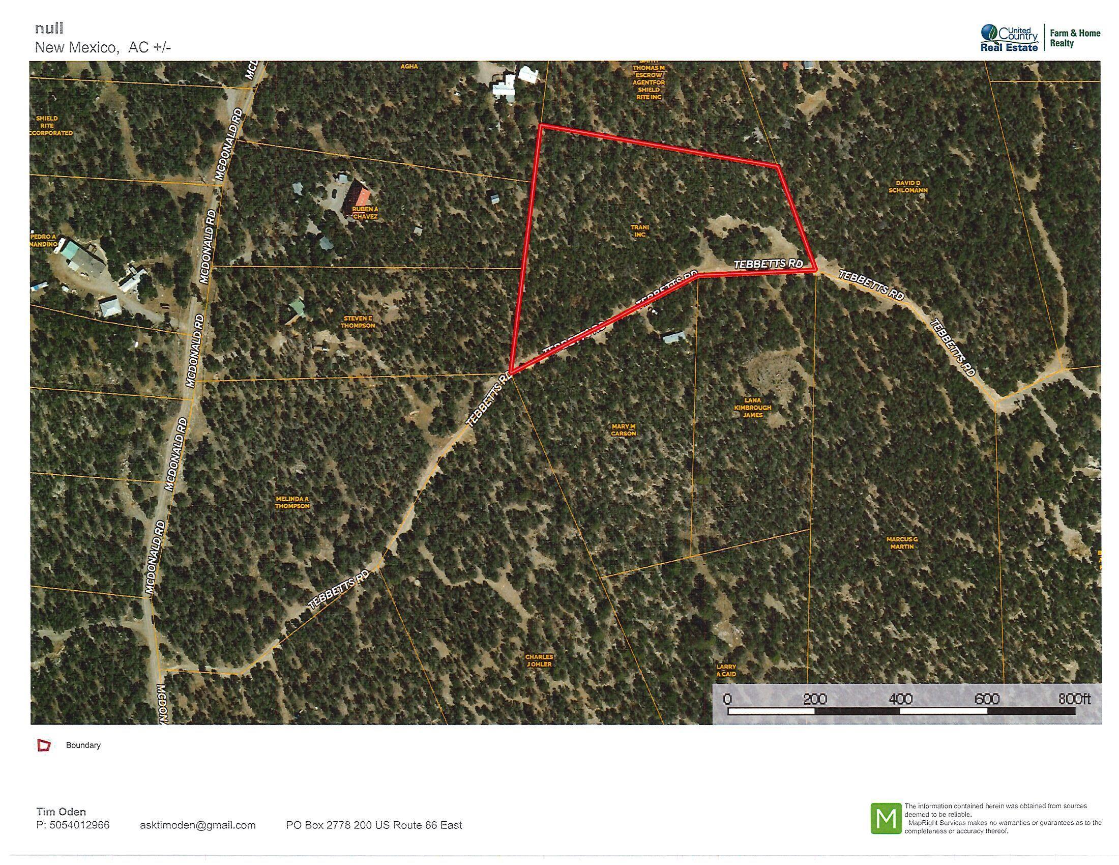25 TEBBETTS Road Property Photo - Edgewood, NM real estate listing