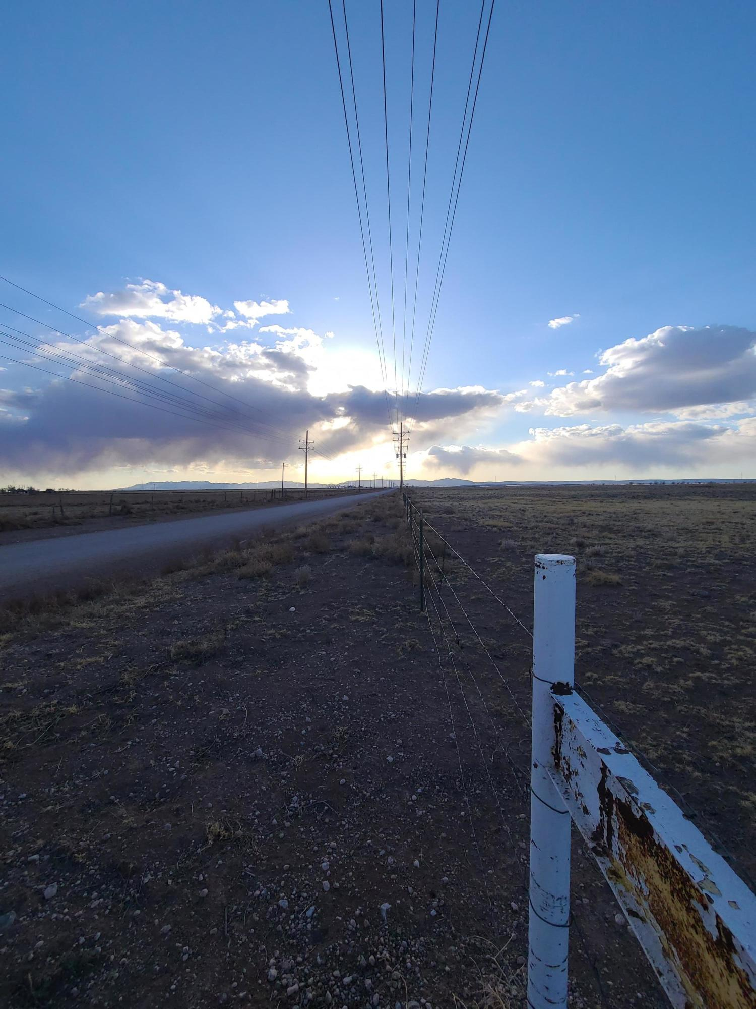 Meyers Road Property Photo - Estancia, NM real estate listing