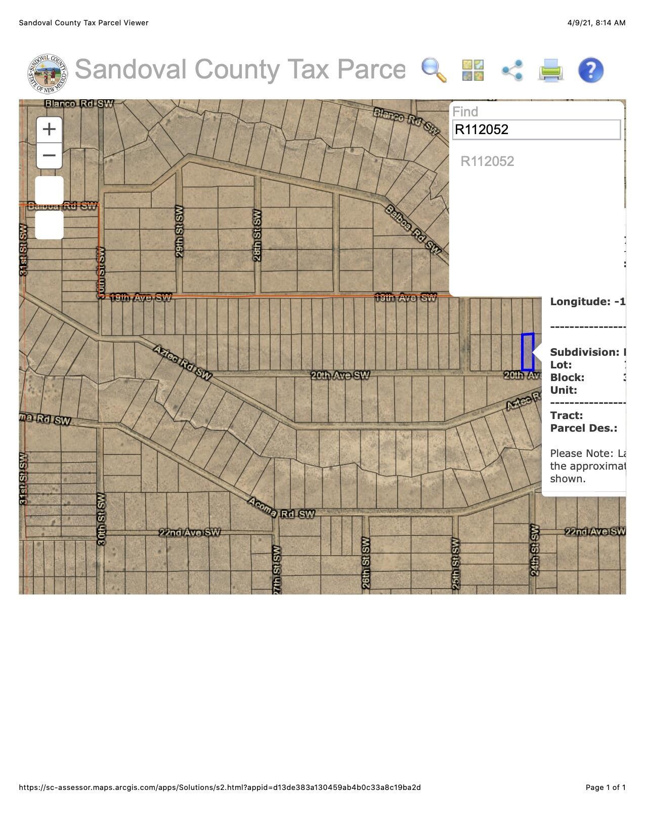 2421 20TH Avenue SW Property Photo - Rio Rancho, NM real estate listing