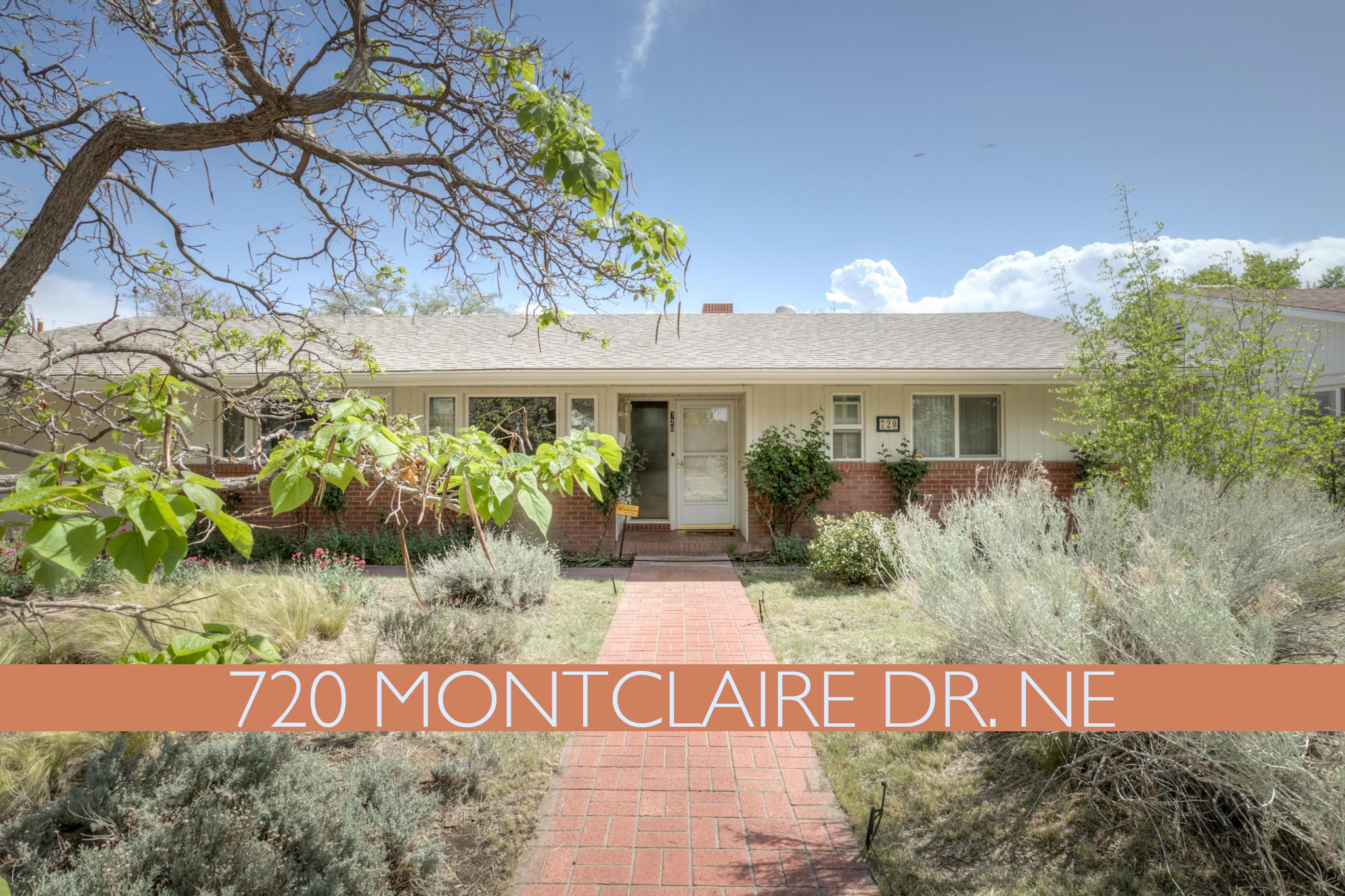 720 Montclaire Drive NE Property Photo - Albuquerque, NM real estate listing