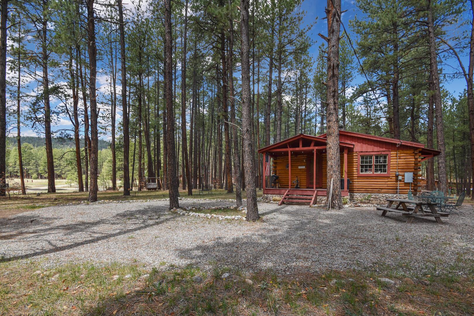 106 Horseshoe Trail Property Photo - Jemez Springs, NM real estate listing