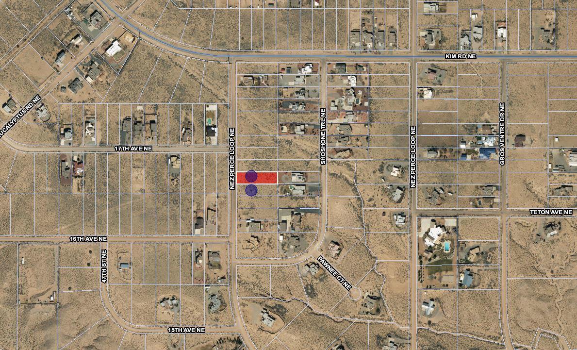 Lot 9 & 10 Nez Perce Loop NE Property Photo - Rio Rancho, NM real estate listing