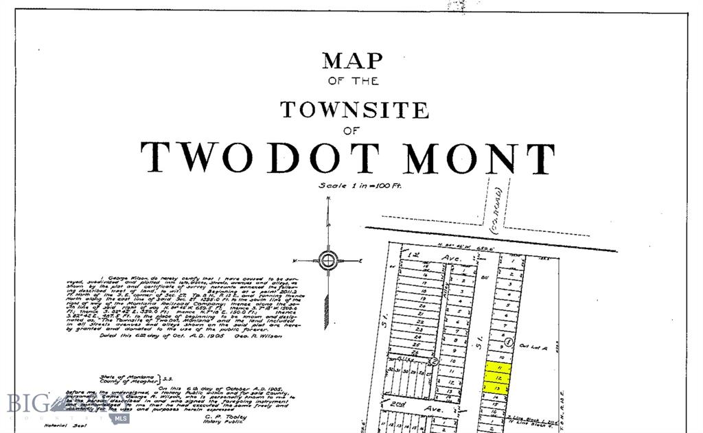 TBD Two Dot Highway Property Photo - Two Dot, MT real estate listing