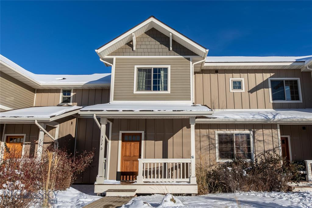 332 N Cottonwood #D Property Photo - Bozeman, MT real estate listing