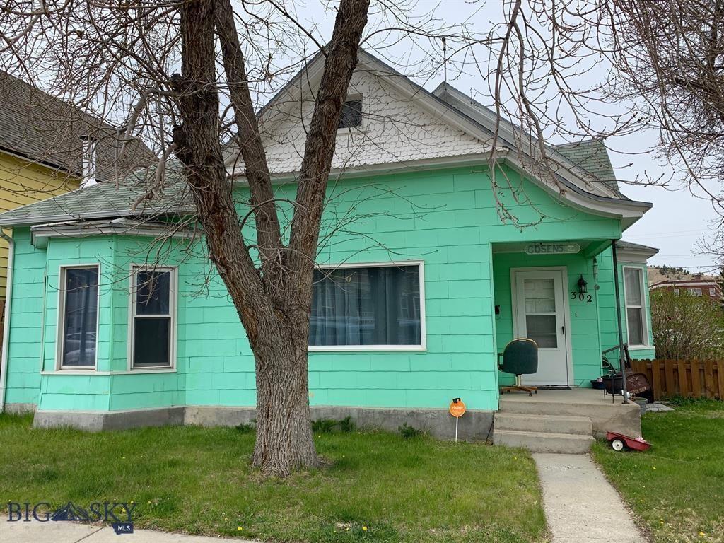 302 W 4th Street Property Photo - Anaconda, MT real estate listing