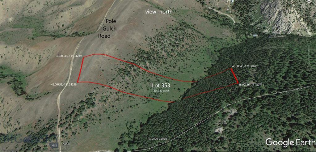 Lot 353 Pole Gulch Road Property Photo - Three Forks, MT real estate listing