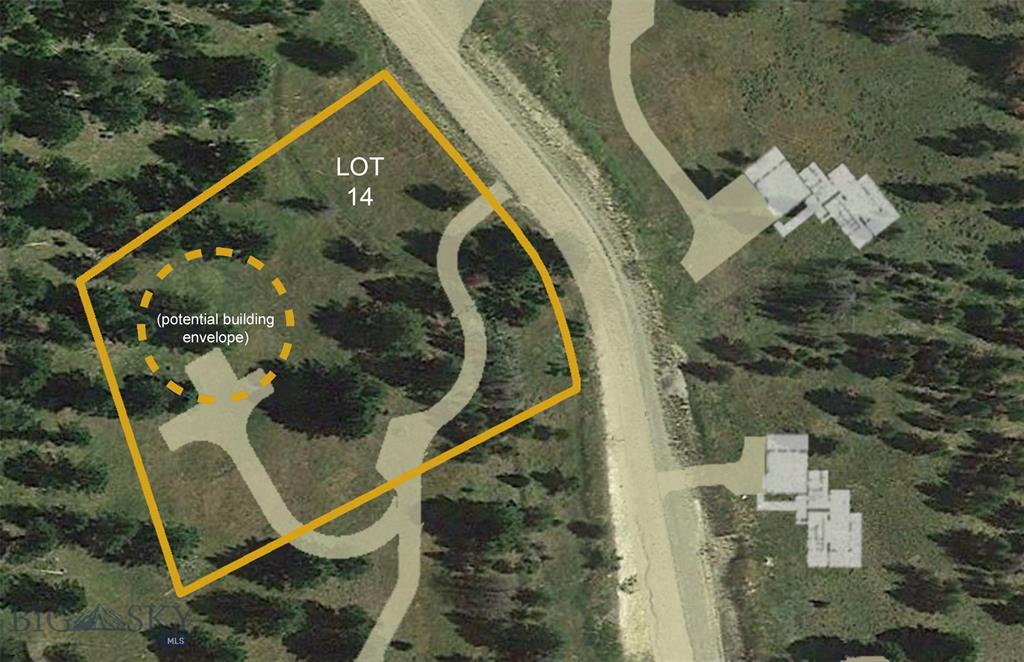 Lot 14 Colters Run Loop Property Photo - Gallatin Gateway, MT real estate listing