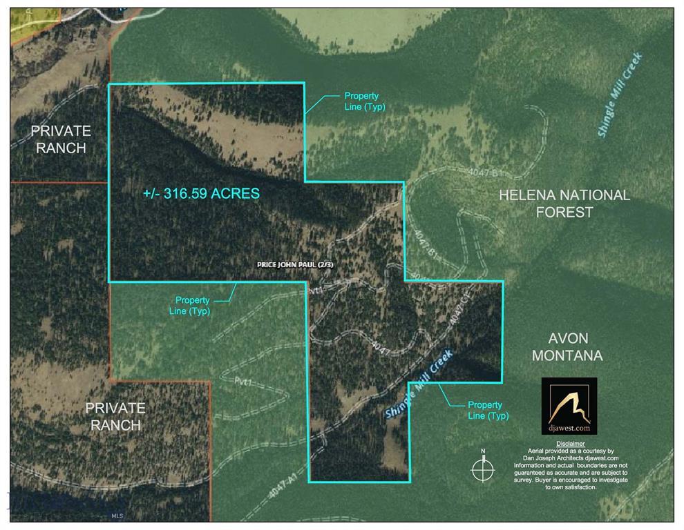 0 Nevada Creek Rd Property Photo - Avon, MT real estate listing