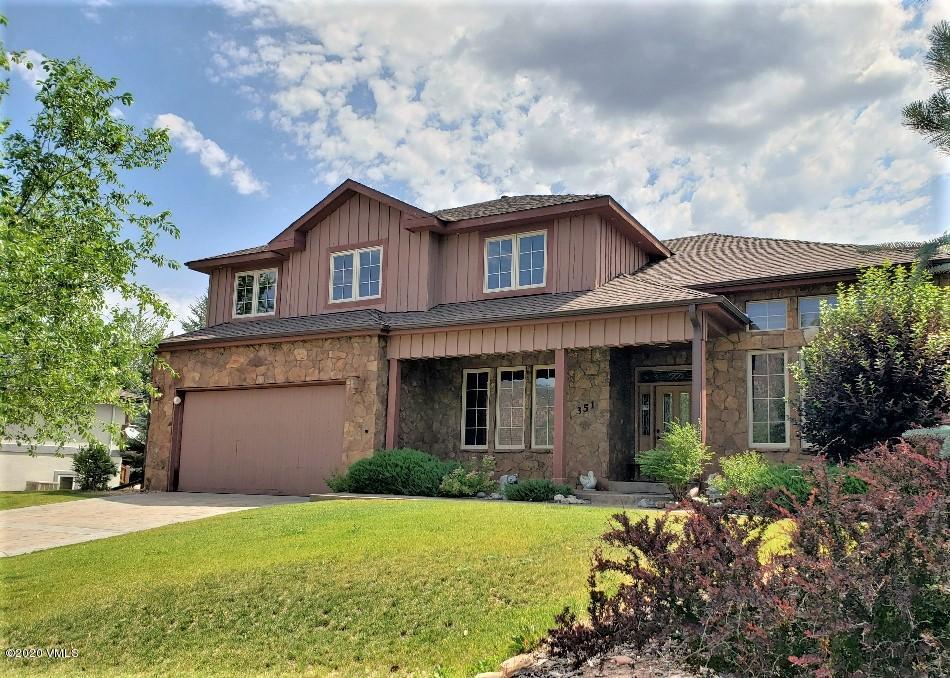 351 Black Bear Drive, Gypsum, Co 81637 Property Photo
