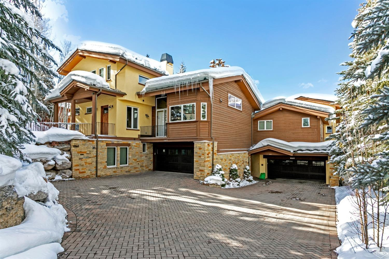 1455 Greenhill Court, E & W, Vail, Co 81657 Property Photo